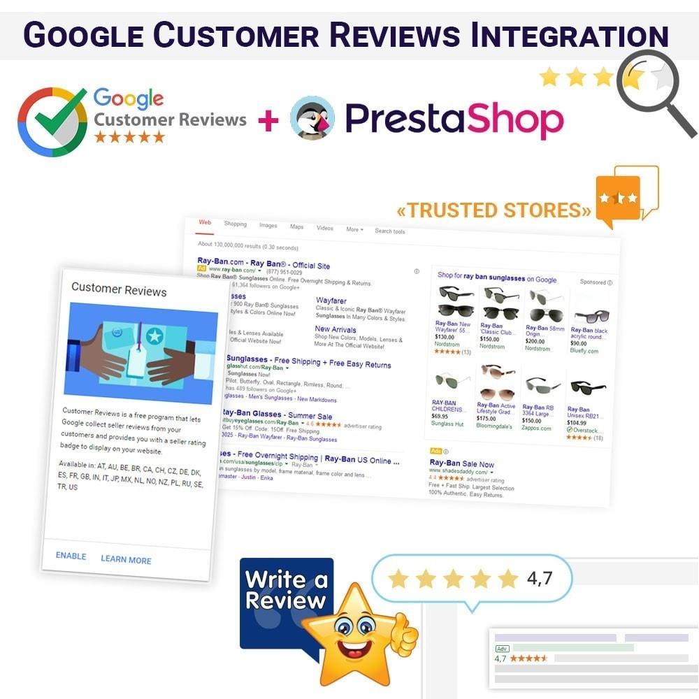 module - Отзывы клиентов - Интеграция программы Google Отзывы клиентов - 1