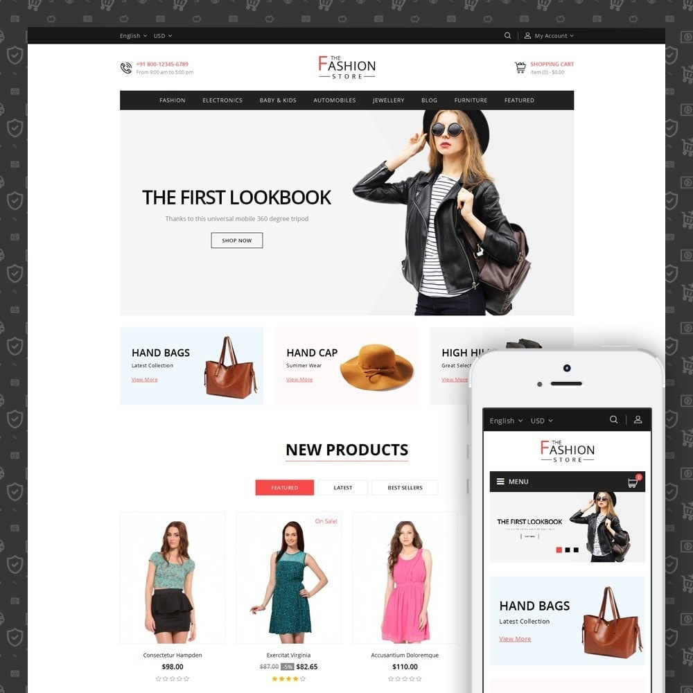 theme - Moda & Obuwie - The Fashion Store - 1
