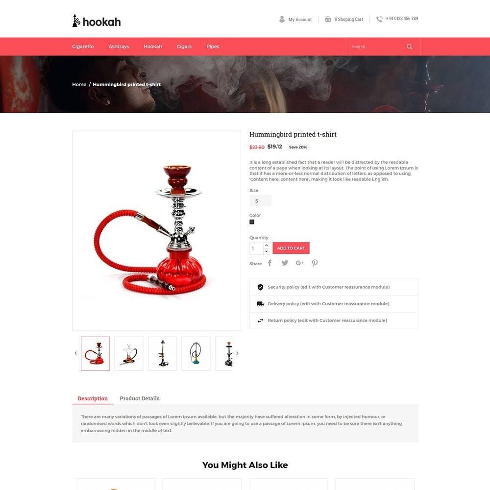 theme - Drink & Tobacco - Hookah - Smoke Bar Store - 4