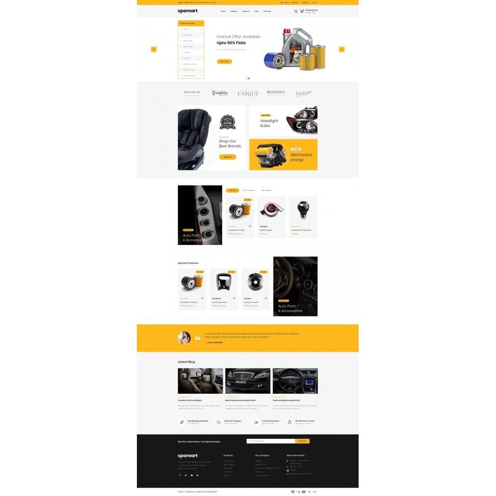 theme - Авто и Мото - Sparearts - Automobile Store - 2