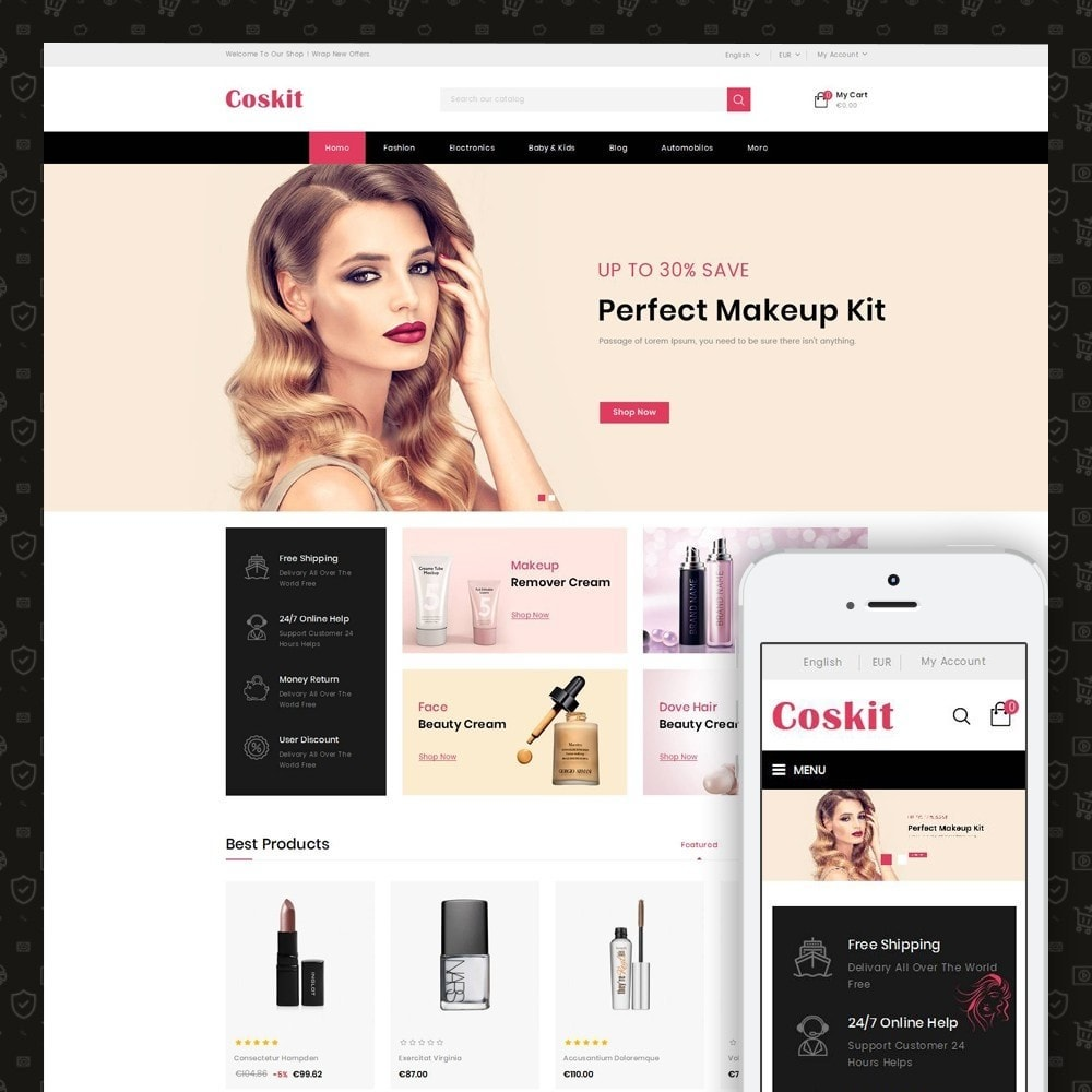 theme - Health & Beauty - Coskit - Beauty Store - 1
