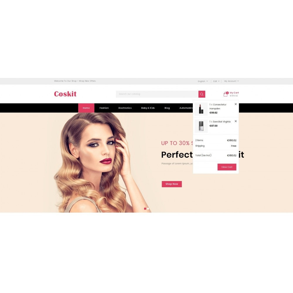 theme - Health & Beauty - Coskit - Beauty Store - 8