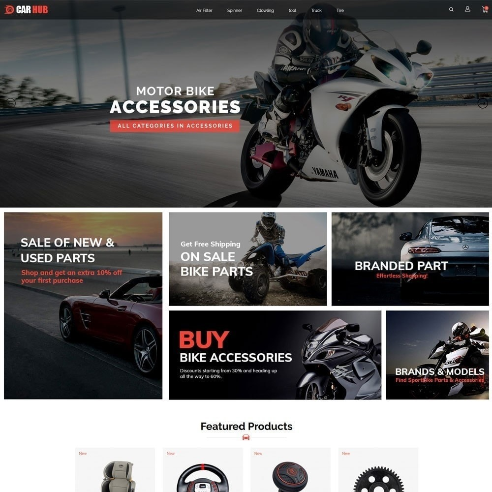 theme - Coches y Motos - Car- Auto Store - 3