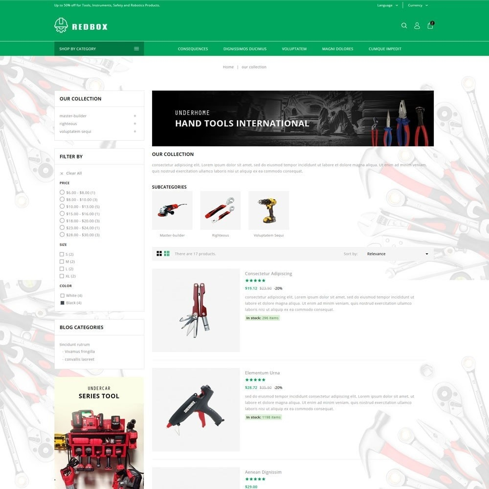 theme - Coches y Motos - Redbox - The Tools Store - 5