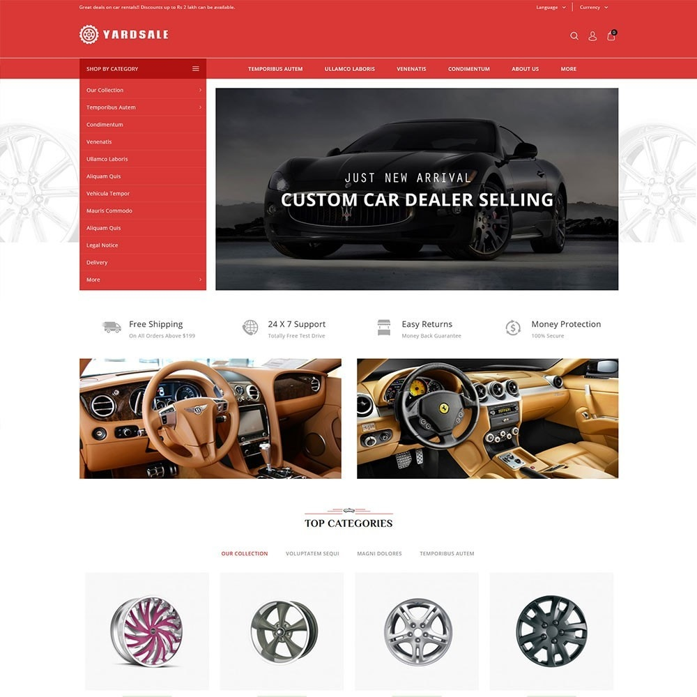 theme - Coches y Motos - Yardsale - The Autoparts Store - 2