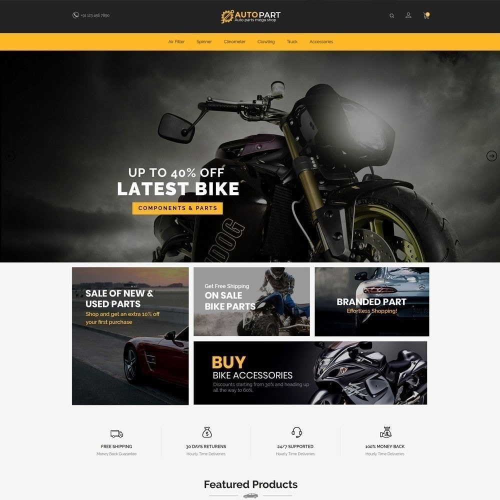 theme - Samochody - Autoparts Car - Auto Tool Store - 3