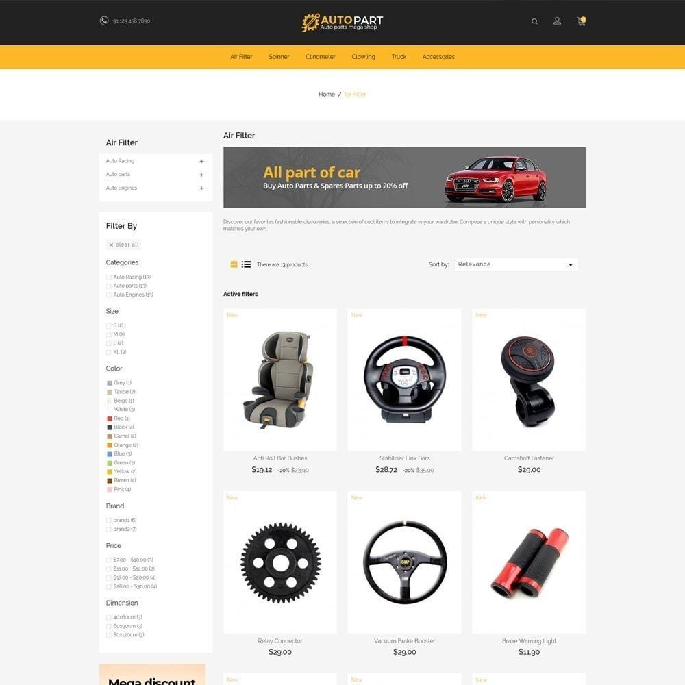 theme - Carros & Motos - Autopeças Car - Auto Tool Store - 4