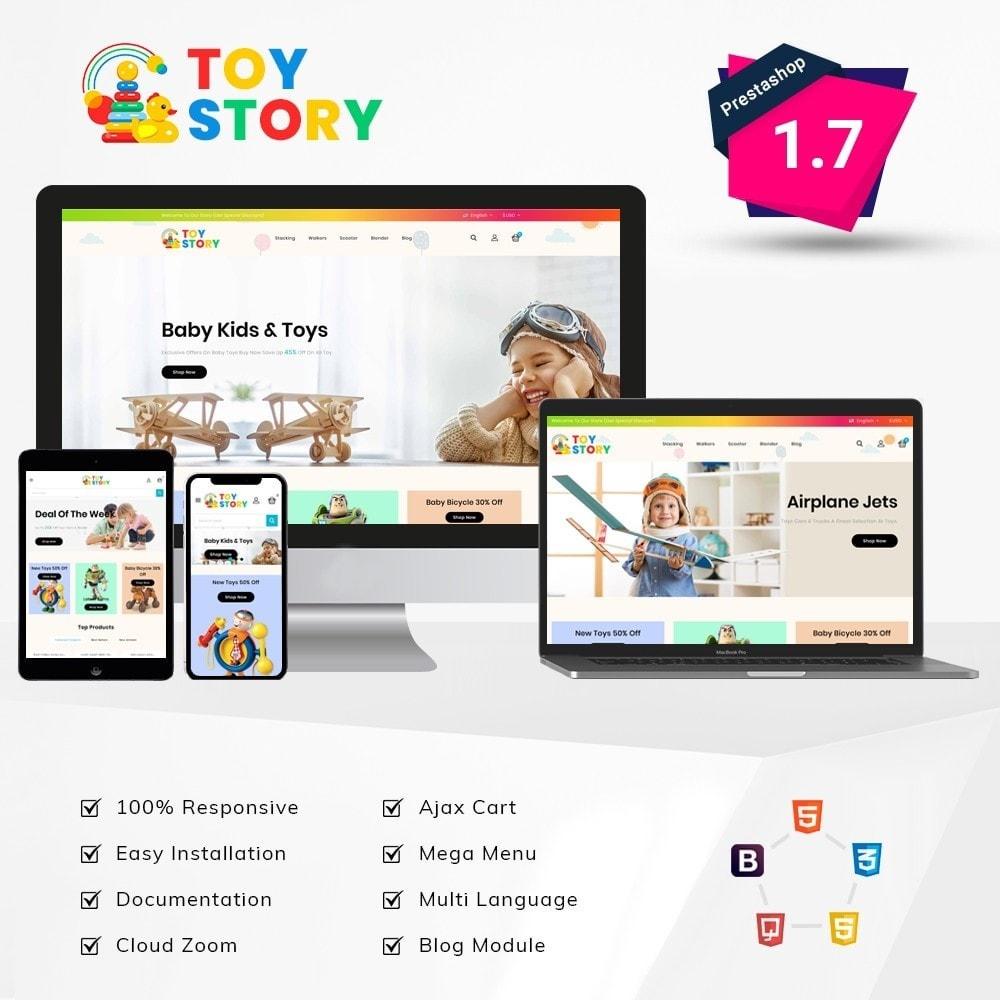 theme - Crianças & Brinquedos - Toys Kids Store - 1