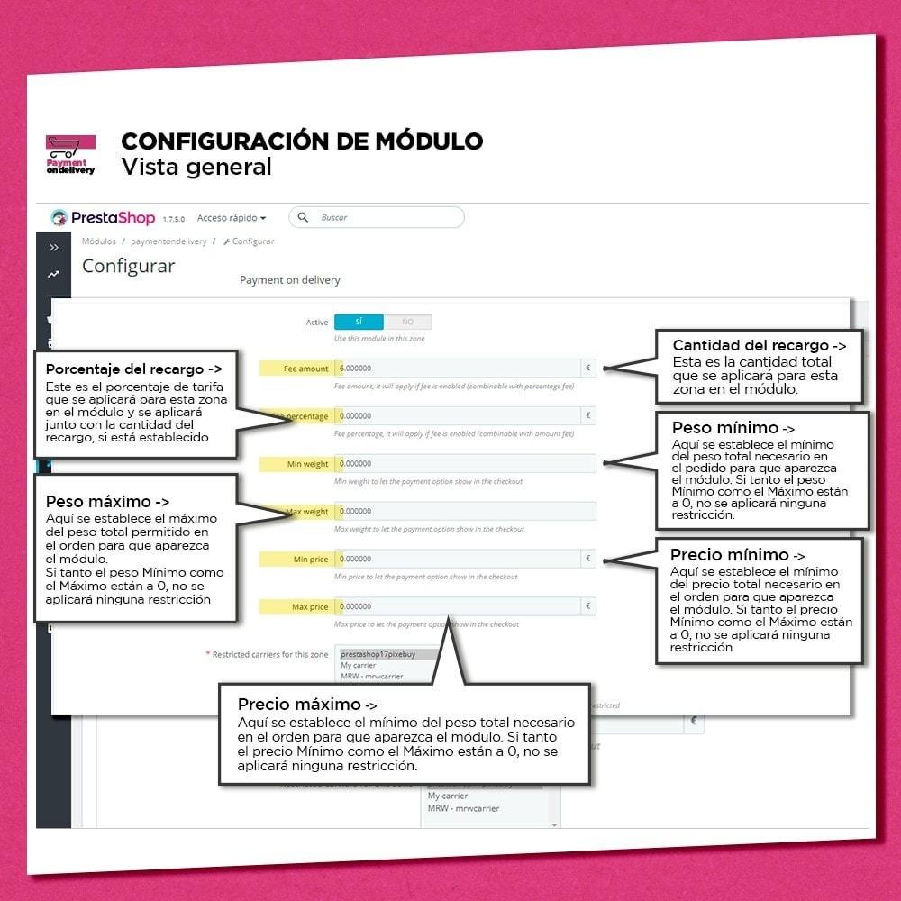 module - Pago a la Entrega (contrarrembolso) - Pago contra reembolso con comisión - 8