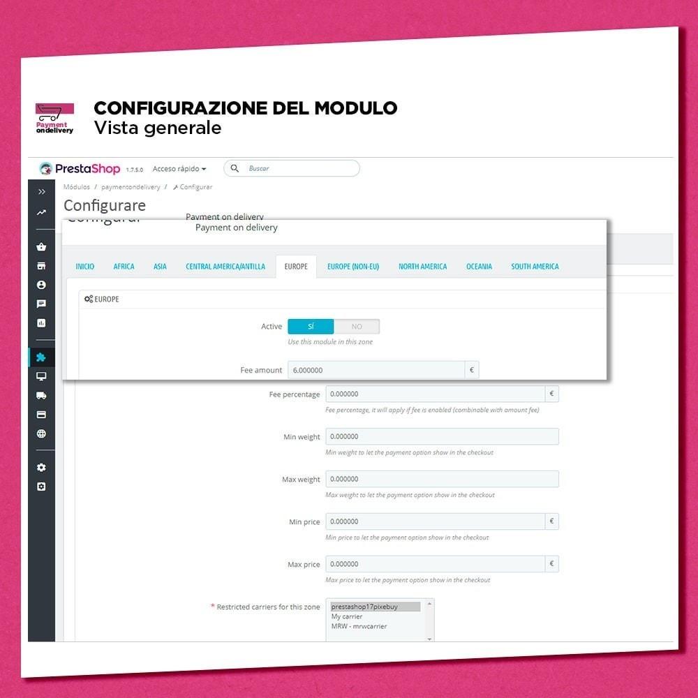 module - Pagamento alla Consegna (in contrassegno) - Pagamento alla consegna con commissioni - 5