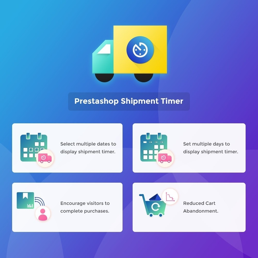 module - Дата доставки - Shipment Timer | Product Dispatch Time - 1