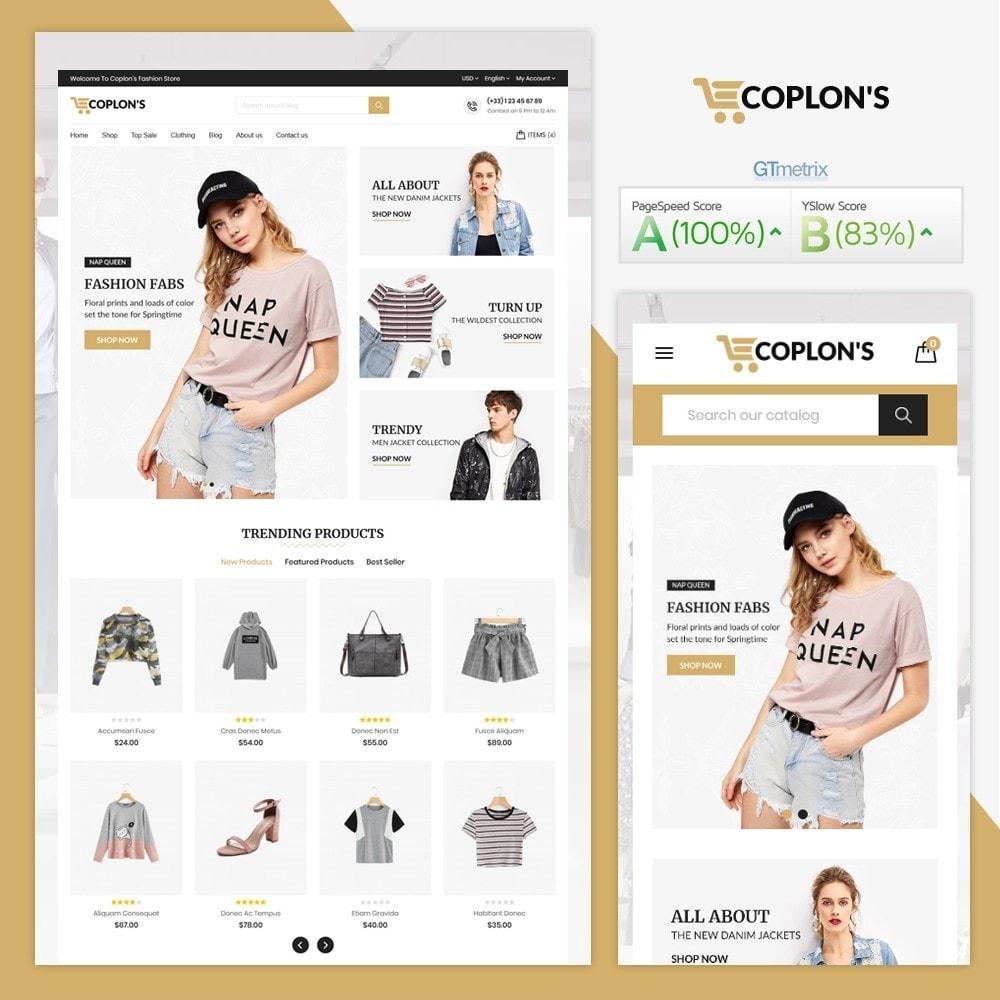 theme - Fashion & Shoes - Coplons Fashion Store - 1
