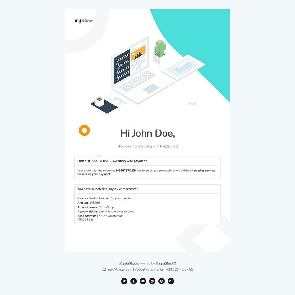 email - PrestaShop email templates - Concac - Responsive Email Template - 3