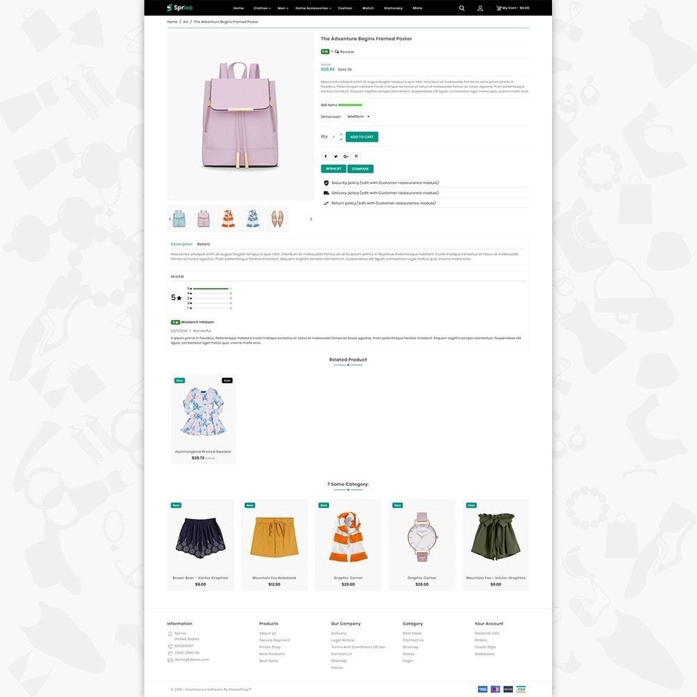 theme - Mode & Schuhe - Sprixo - The  Fashion Store - 5