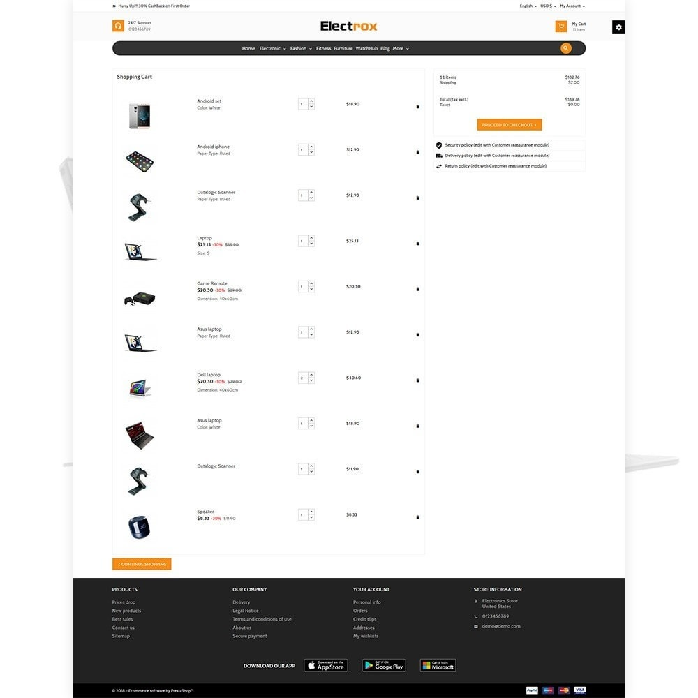 theme - Elektronika & High Tech - Electrox Electronic Multi Store Responsive - 4