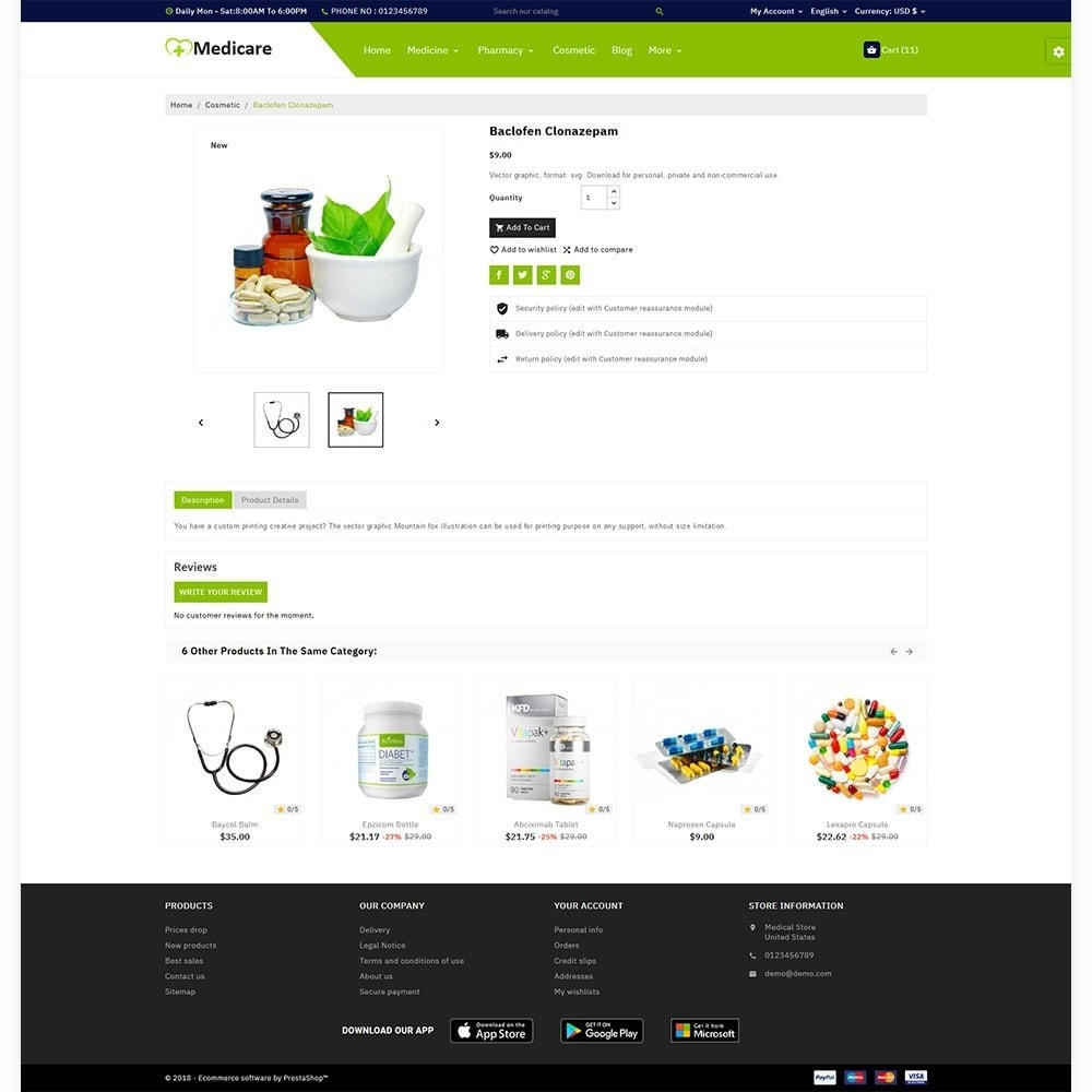 theme - Gezondheid & Schoonheid - Medicare Medical and Drug Store - 5