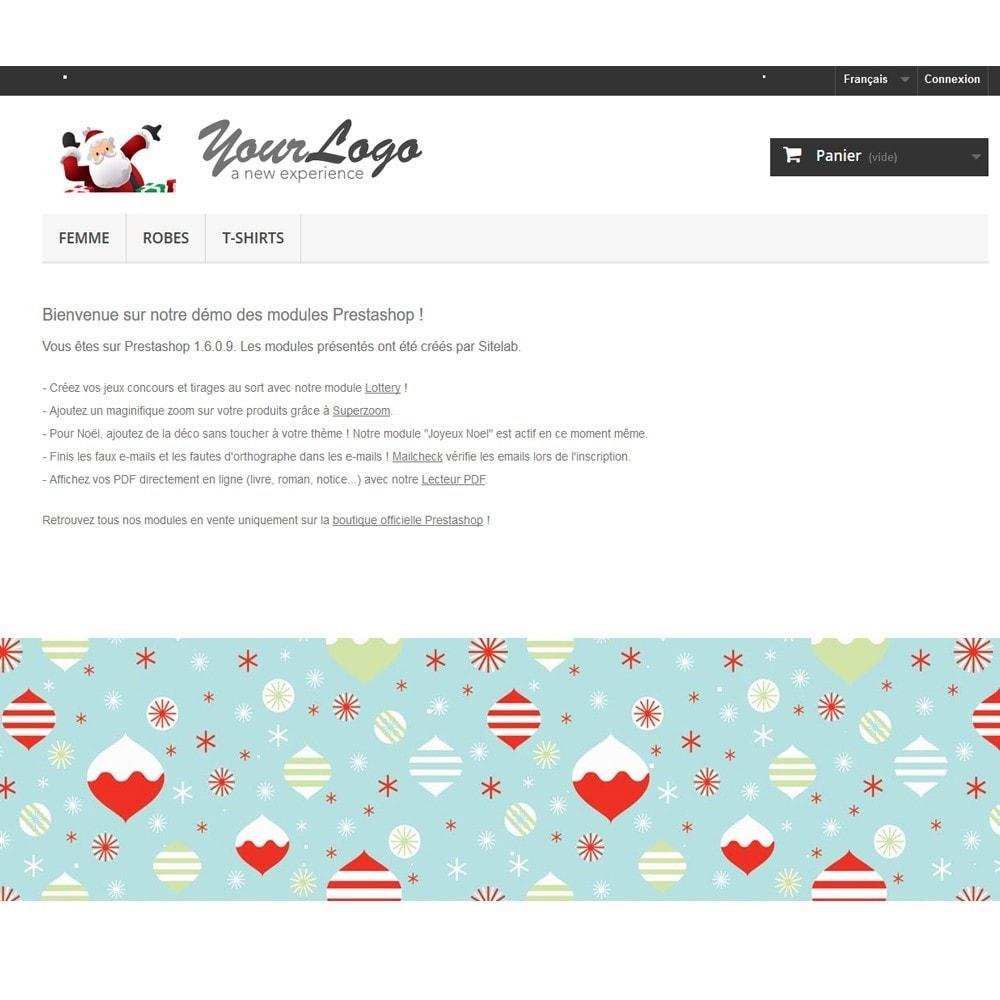 module - Personalizzazione pagine - Merry Christmas - 1
