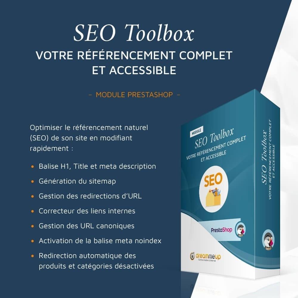 module - SEO (référencement naturel) - SEO Toolbox : Le référencement tout en un - 1