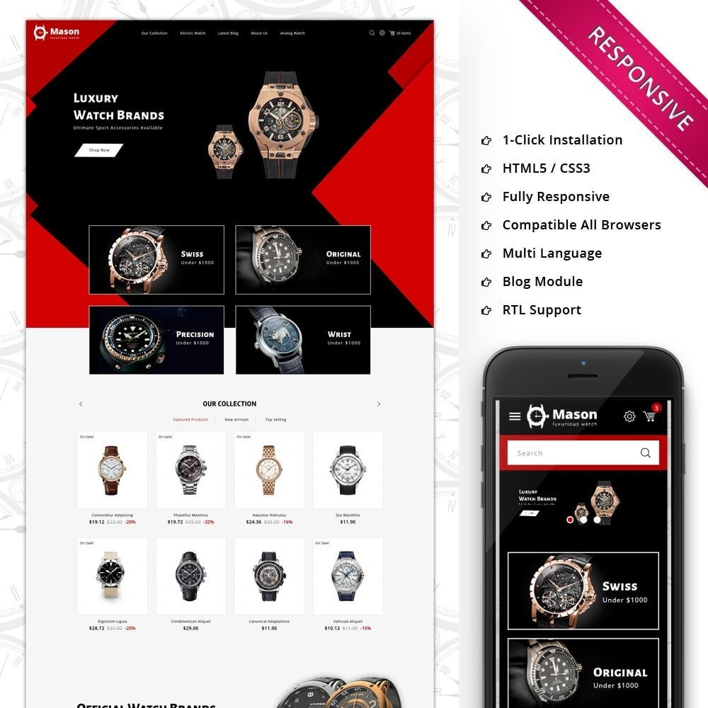theme - Elektronika & High Tech - Mason - The Watch Shop - 1