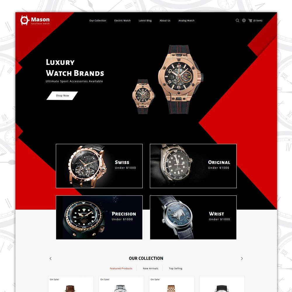 theme - Elektronika & High Tech - Mason - The Watch Shop - 2