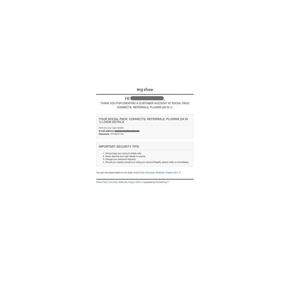 module - Boutons Login & Connect - Social Pack: Connexions, Parrainages, Plugins (34 en 1) - 5