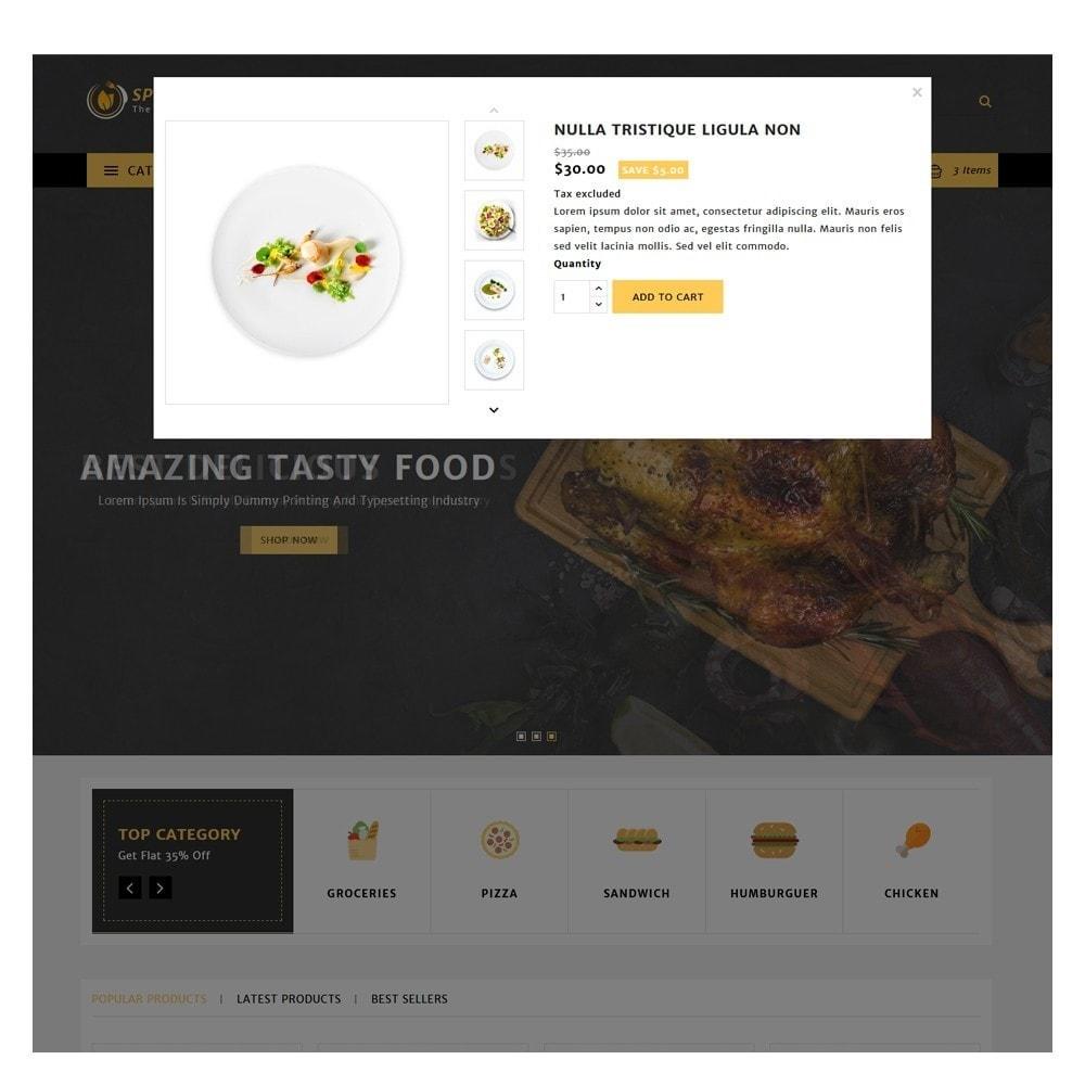 theme - Żywność & Restauracje - Spiceup - Food Club - 9