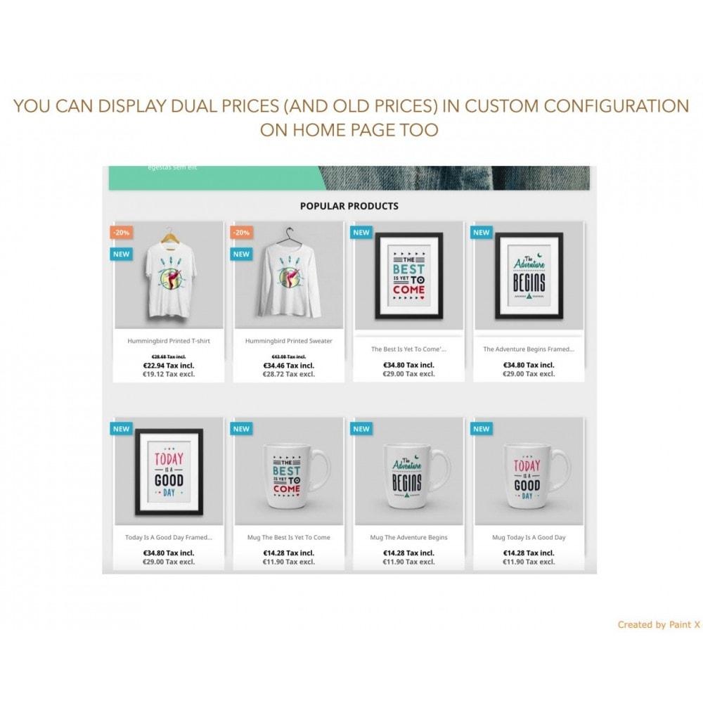 module - Preisverwaltung - Duale Darstellung von Preisen mit und ohne Steuer - 5