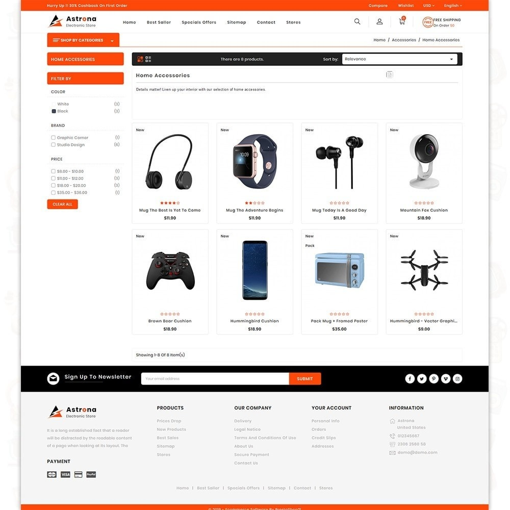 theme - Electronics & Computers - Astrona - The Electronics Store - 3