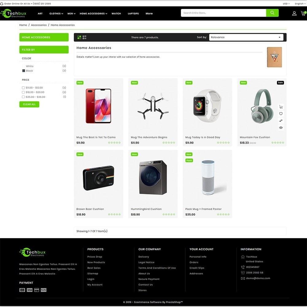 theme - Elektronika & High Tech - Techbux - The Etlectronics Store - 3