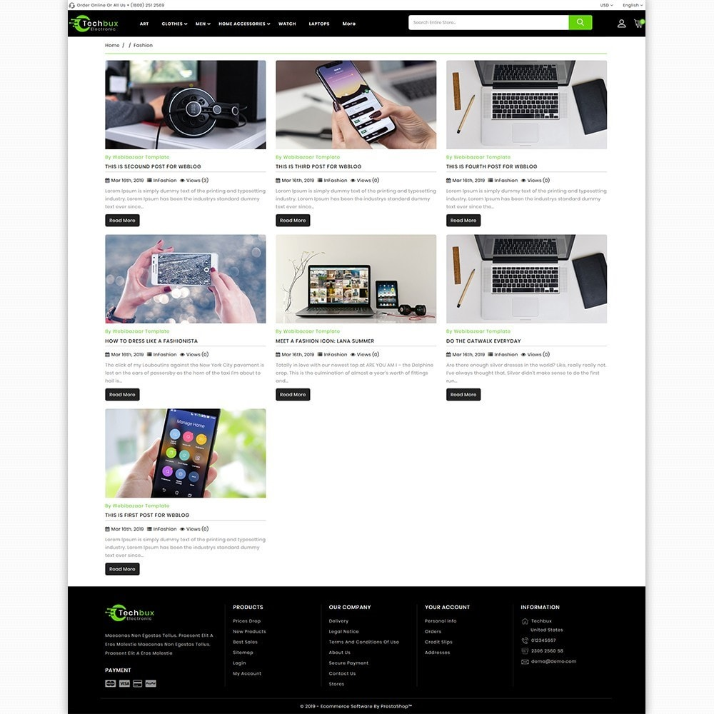 theme - Electronics & Computers - Techbux - The Etlectronics Store - 6