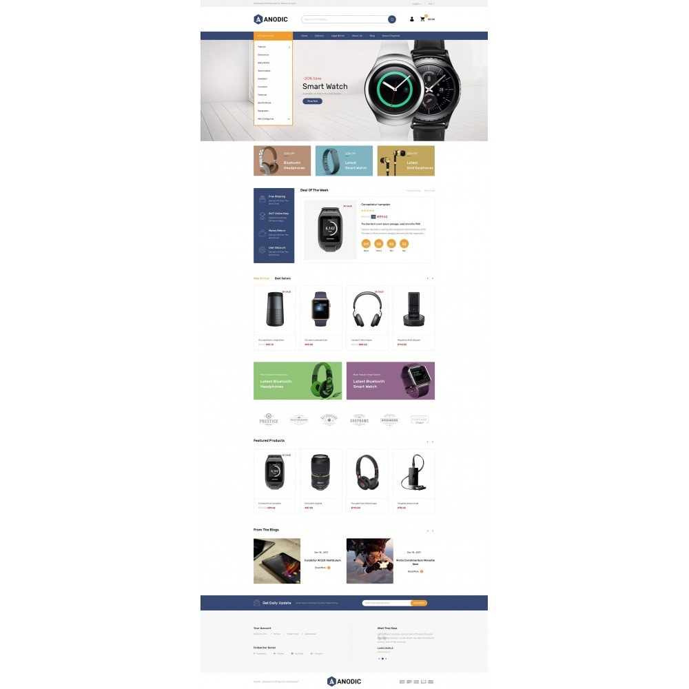 theme - Eletrônicos & High Tech - Anodic - Electronic Gadget Store - 2