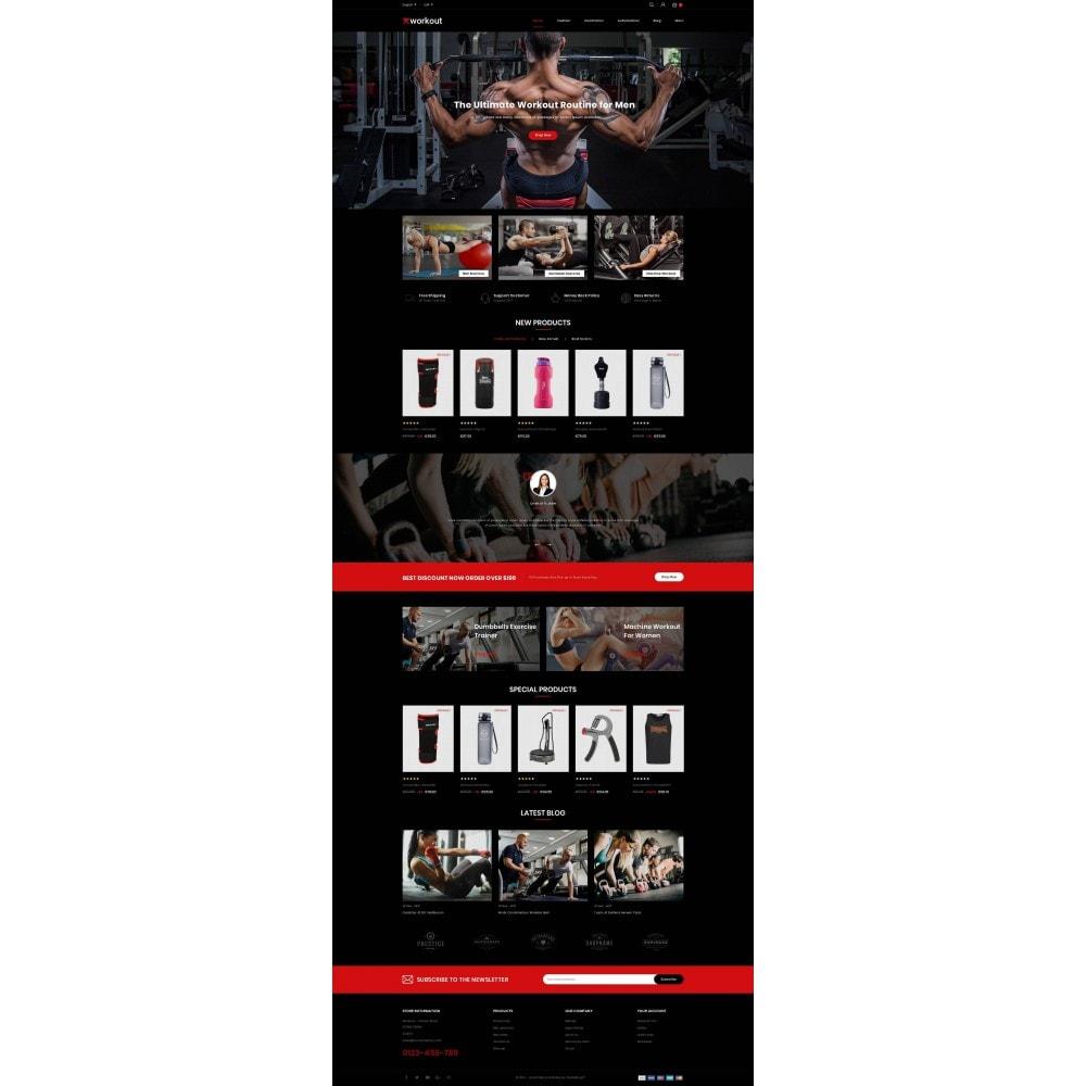 theme - Gesundheit & Schönheit - Workout - Fitness Store - 2