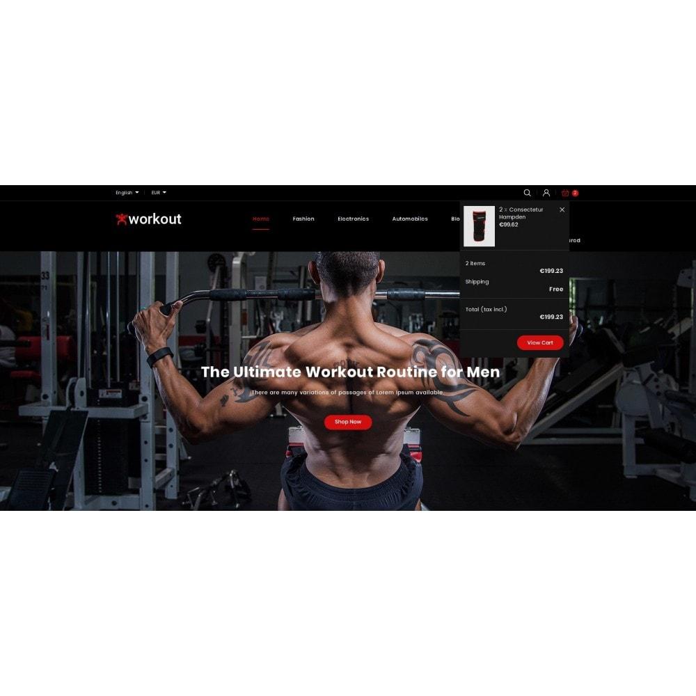 theme - Gesundheit & Schönheit - Workout - Fitness Store - 6