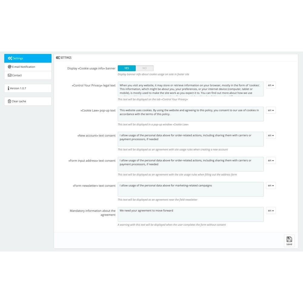 module - Législation - RGPD Compliance - 7