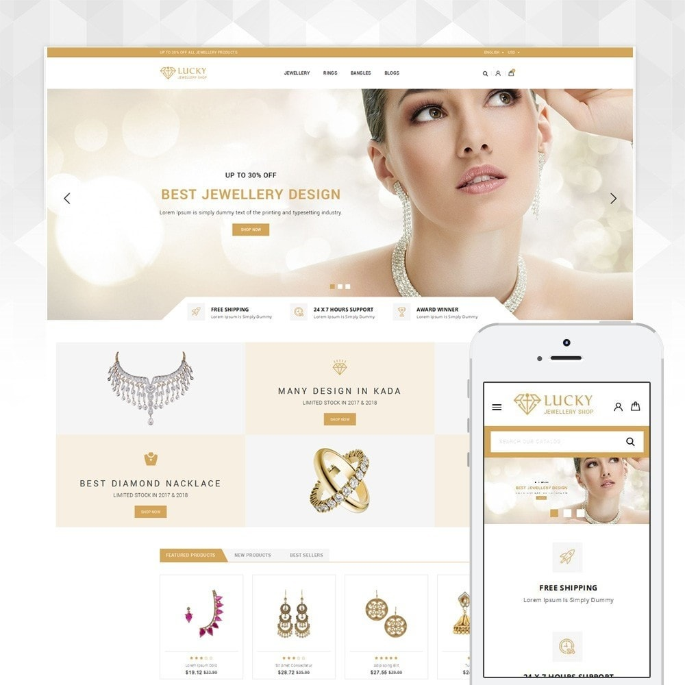 theme - Jewelry & Accessories - Lucky - The Jewelry shop - 1