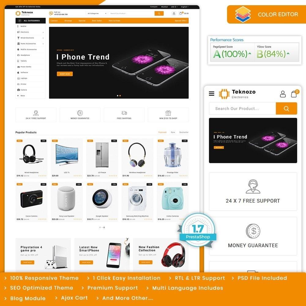 theme - Electronics & Computers - Teknozo - The Electronics Store - 1