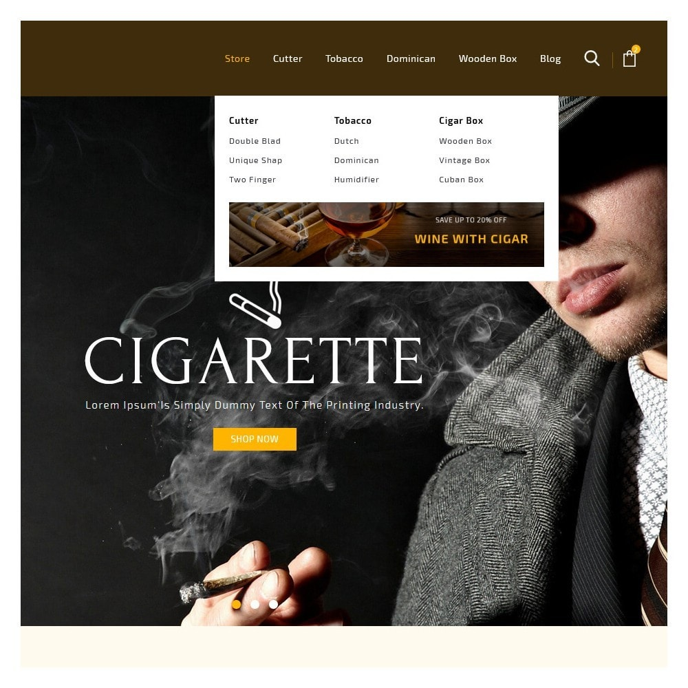 theme - Drink & Wine - Cigar Drink & Tobacco - 9