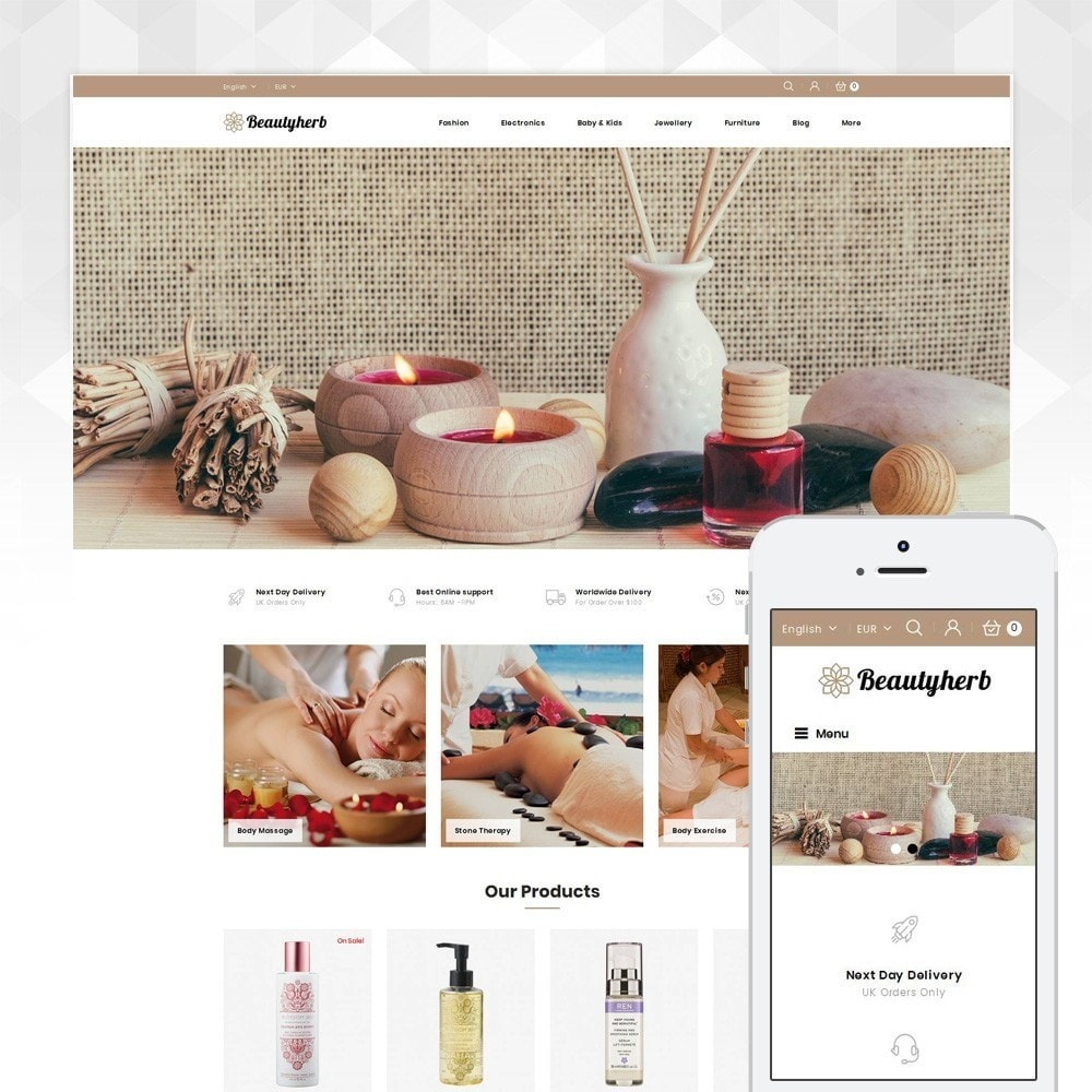 theme - Salute & Bellezza - Beauty Herb Store - 1