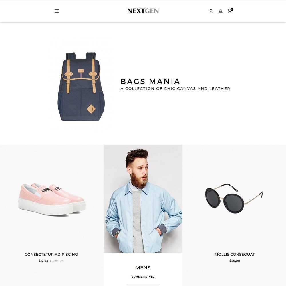 theme - Moda & Calçados - Nextgen - The Fashion Store - 3