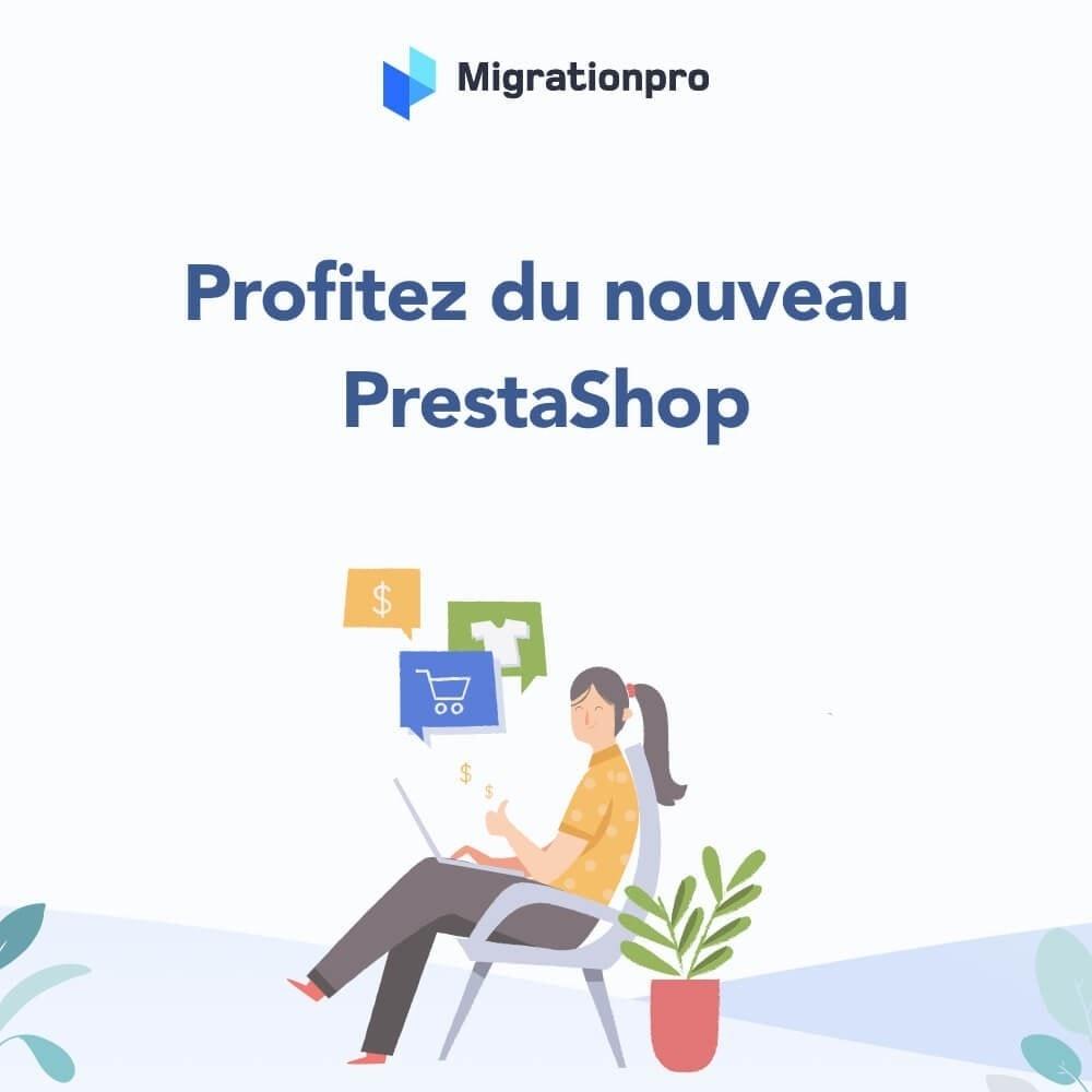 module - Migration de Données & Sauvegarde - Outil de migration PrestaShop - 10