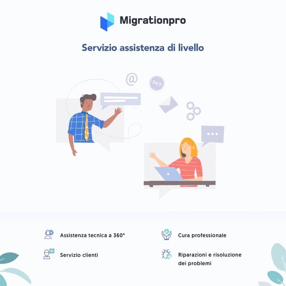 module - Data Migration & Backup - Tool di Aggiornamento e Migrazione di Prestashop - 8