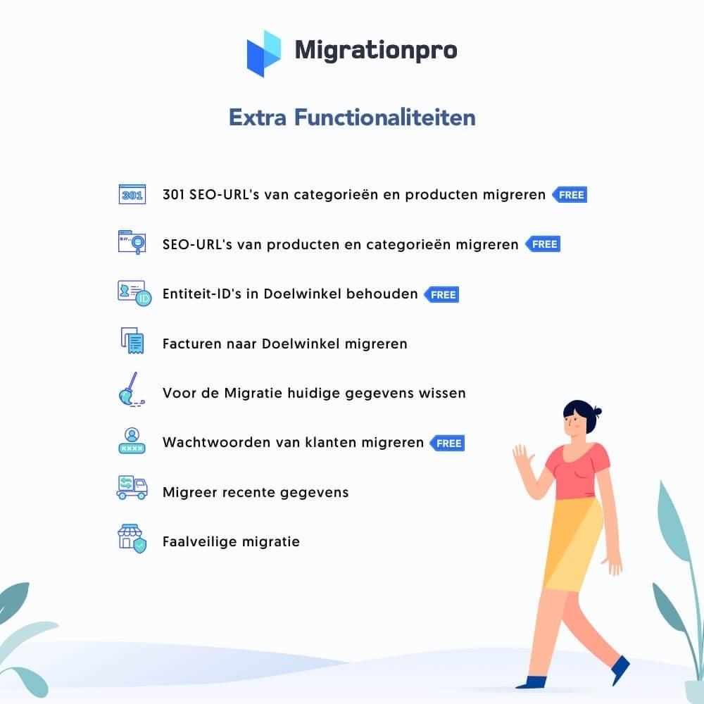module - Migratie & Backup - MigrationPro: upgrade- en Migratietool voor Prestashop - 5