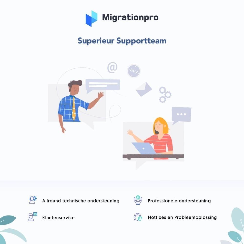 module - Migratie & Backup - MigrationPro: upgrade- en Migratietool voor Prestashop - 8