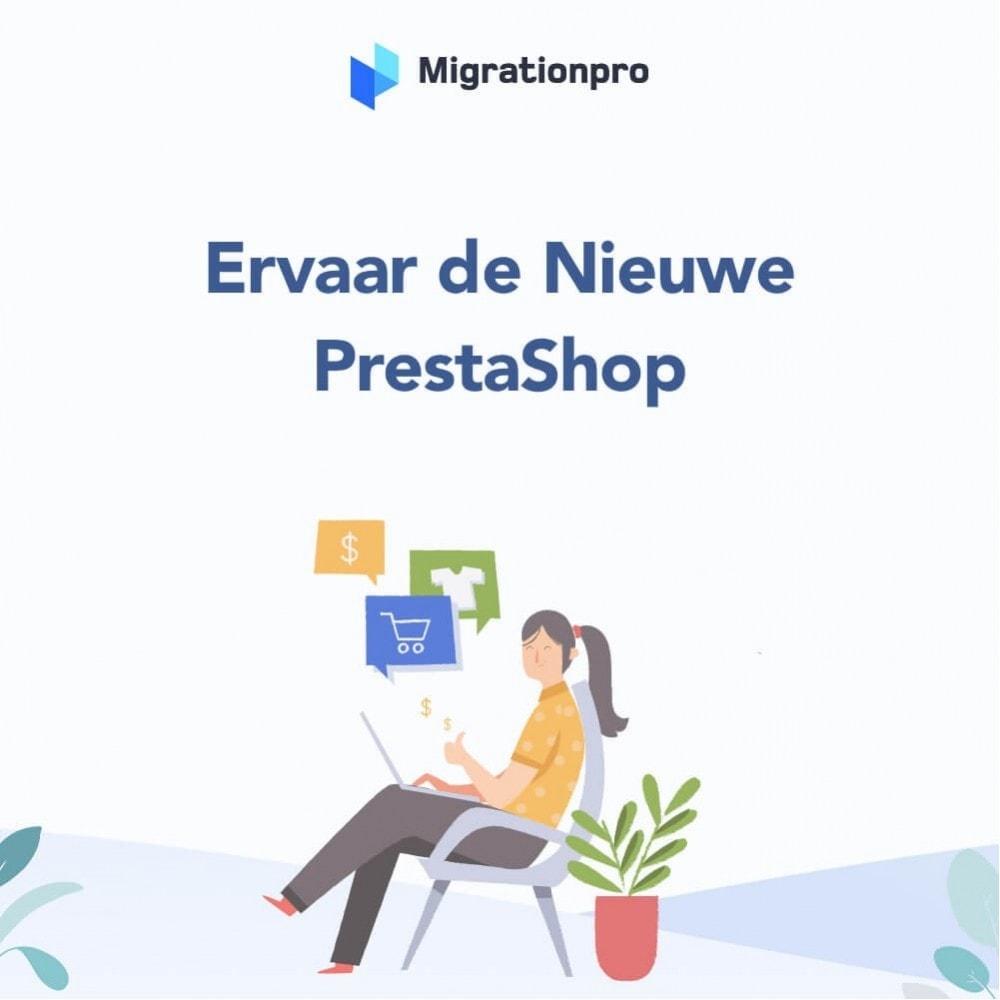 module - Migratie & Backup - MigrationPro: upgrade- en Migratietool voor Prestashop - 10