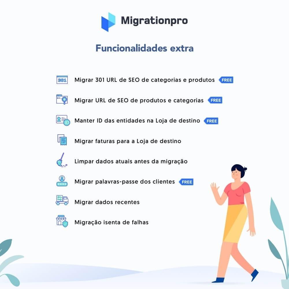 module - Migração de Dados & Registro - Upgrade PrestaShop e ferramenta de Migração - 5