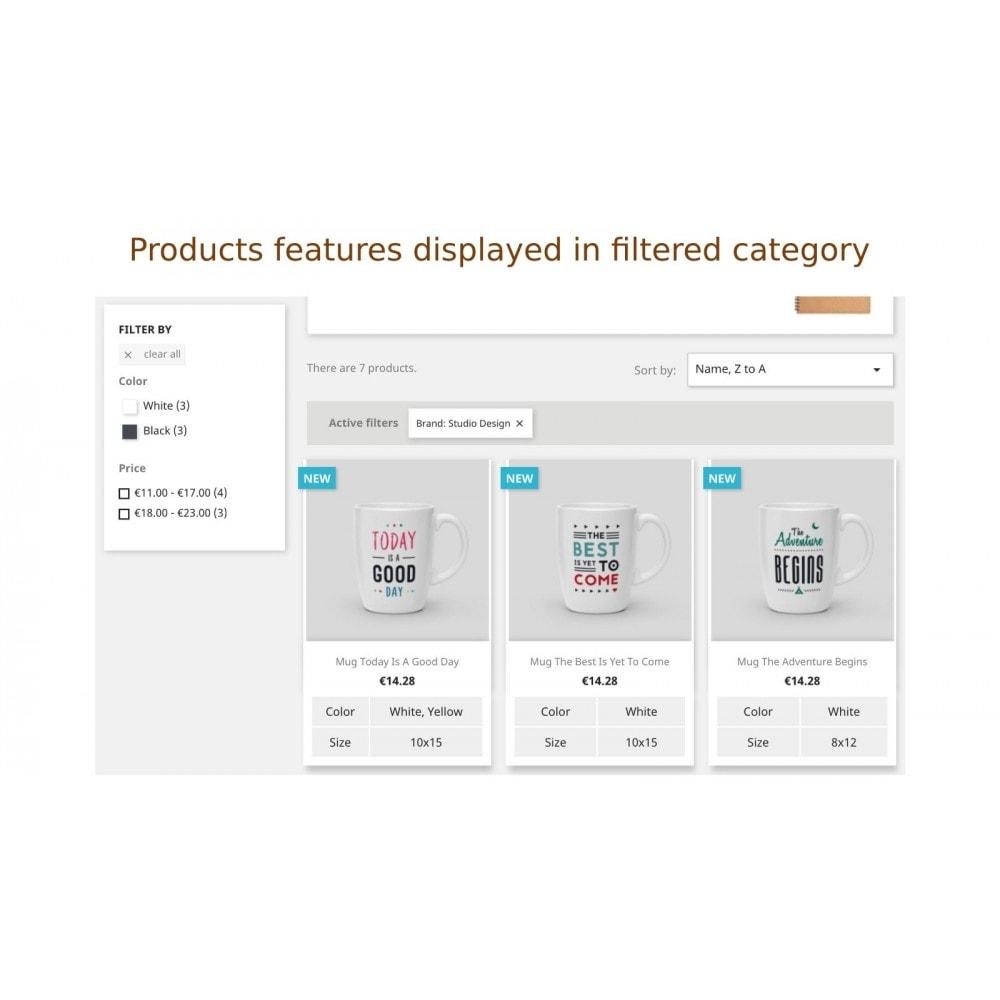 module - Дополнительной информации и вкладок товара - Просмотр описания продуктов в списке продуктов - 5