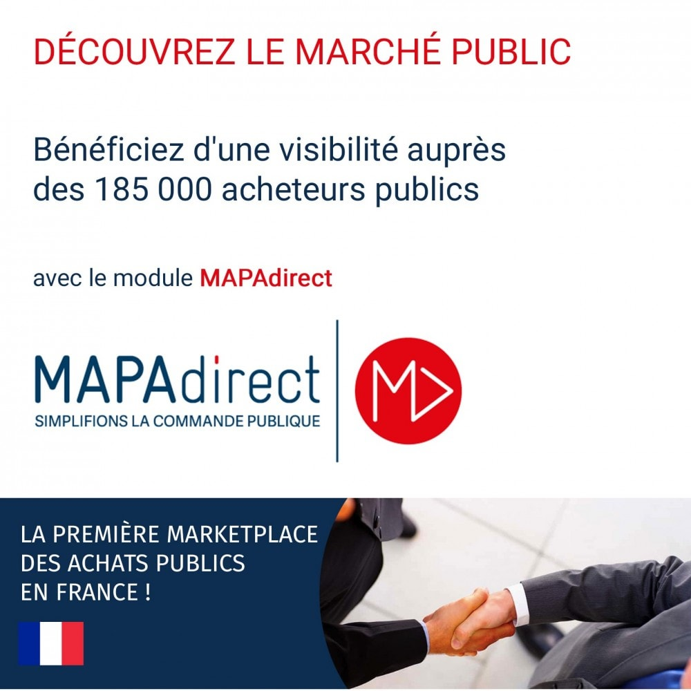 module - Marketplaces - MAPAdirect : la seule marketplace dédiée aux acheteurs publics en France - 1