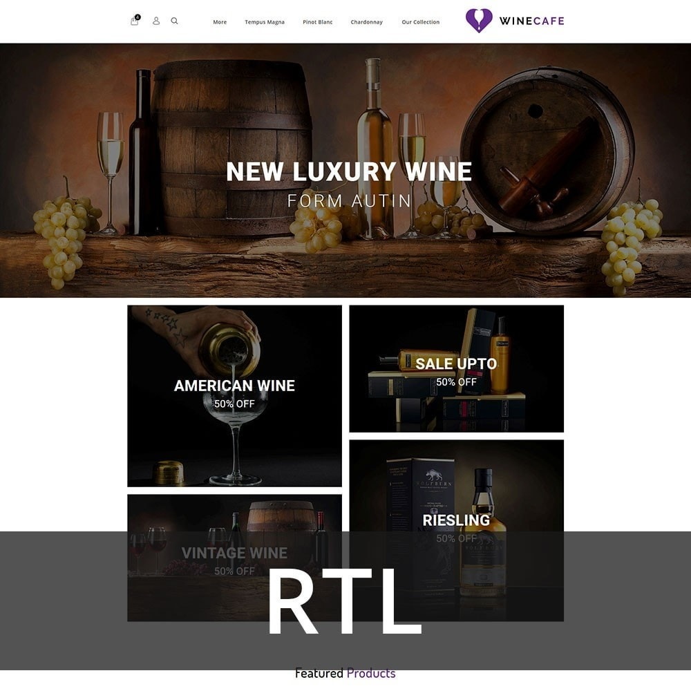 theme - Getränke & Tabak - Winecafe - The Wine Store - 3