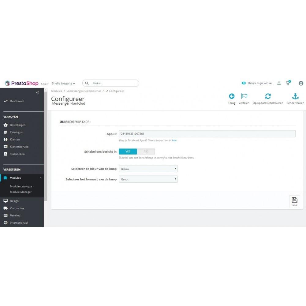 module - Wsparcie & Czat online - Czat klienta Messenger - 3