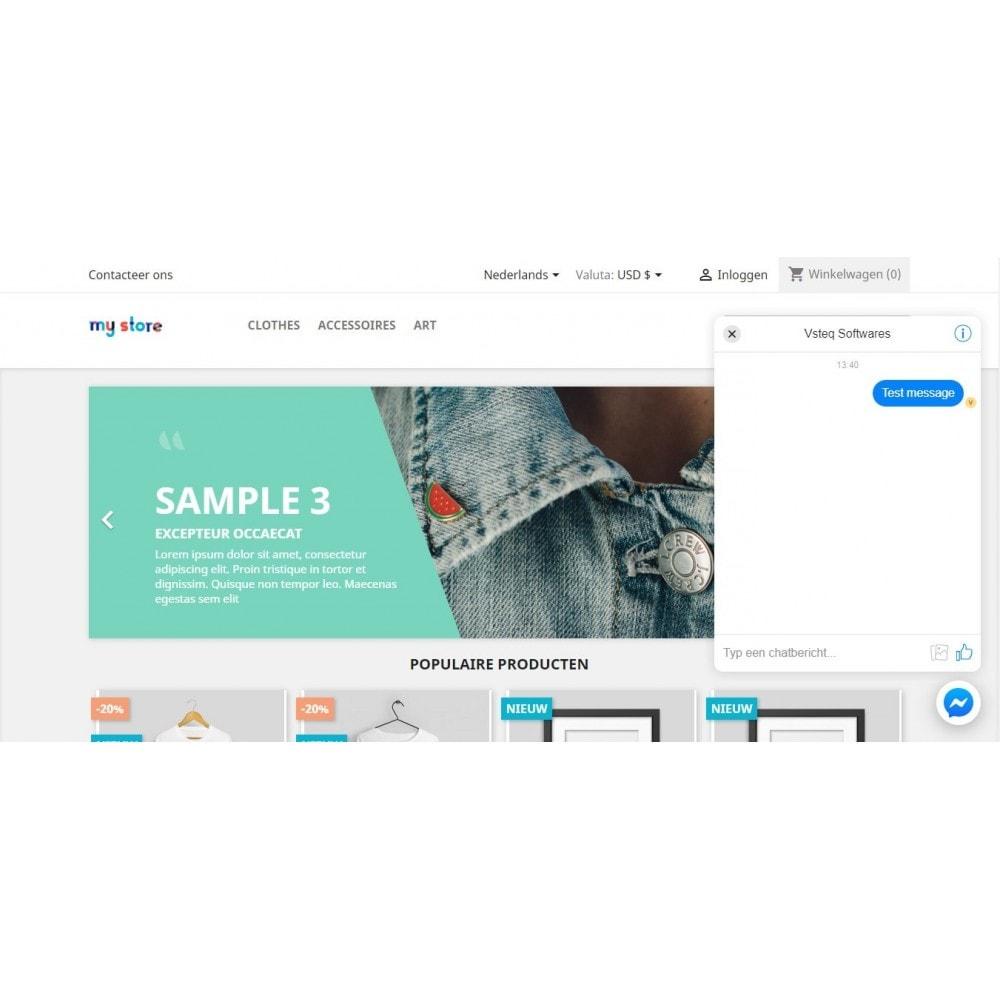 module - Suporte & Chat on-line - Bate-papo do cliente Messenger - 2